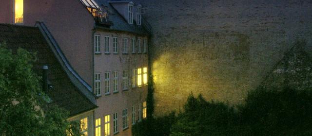 Oświetlenie zewnętrznej części domu