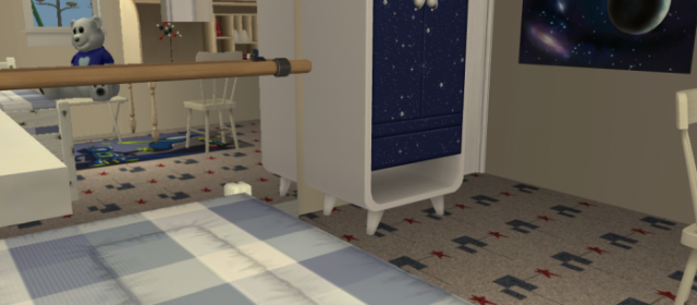 Oświetlenie pokoju dla dziecka